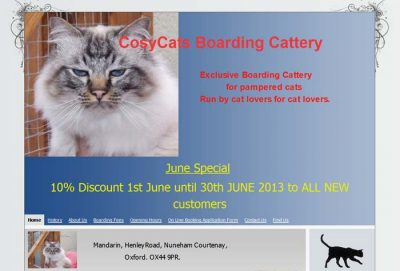 Cosycats Boarding Cattery