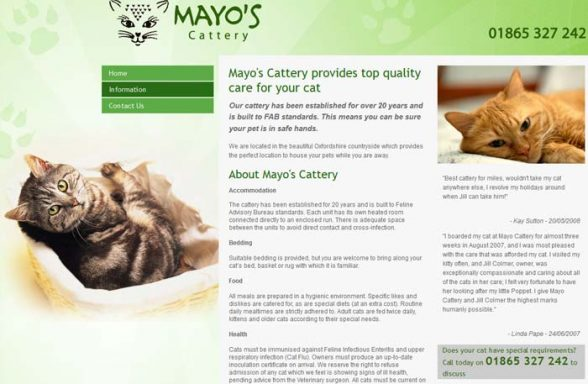 Mayo Cattery