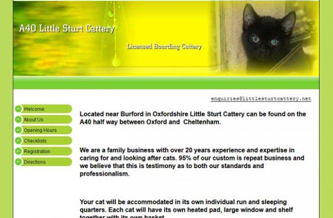 Little Sturt Boarding Cattery