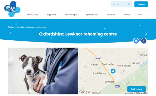 Blue Cross Rehoming Service - Lewknor
