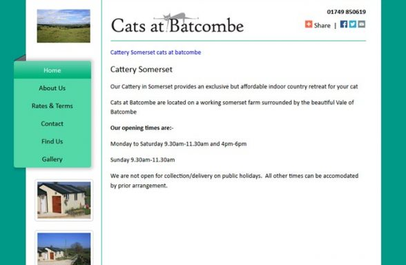 Cats at Batcombe