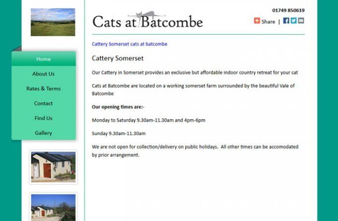 Cats at Batcombe