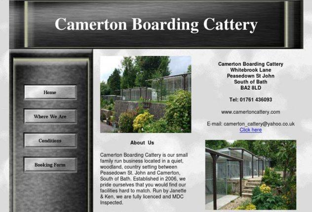 Camerton Boarding Cattery