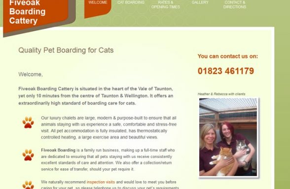 Fiveoak Boarding Cattery