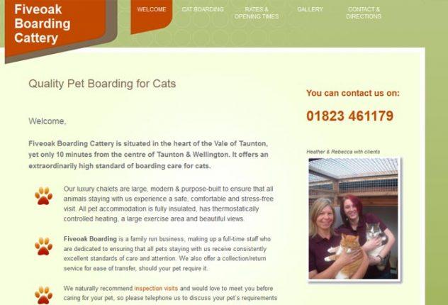Fiveoak Boarding Cattery