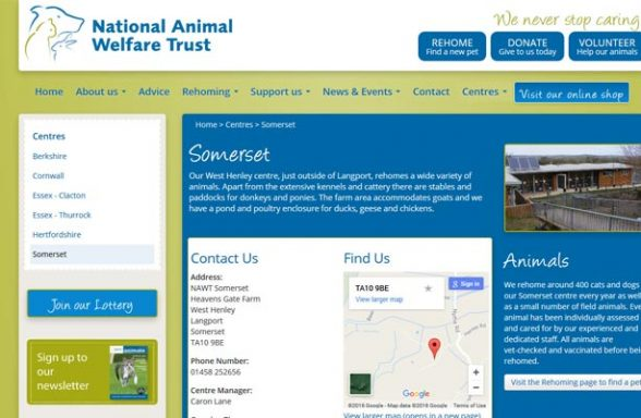 National Animal Welfare Trust - Langport