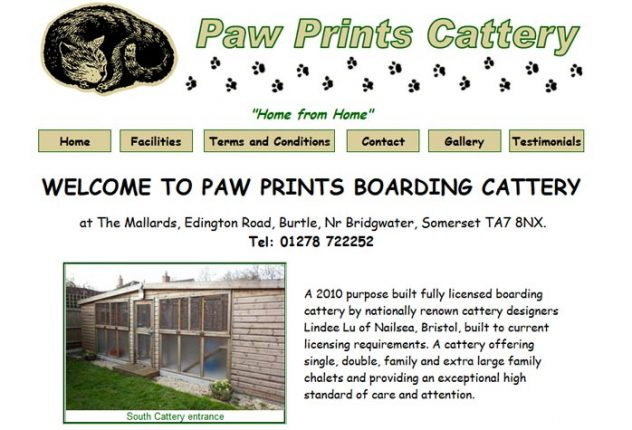 Paw Prints Cattery