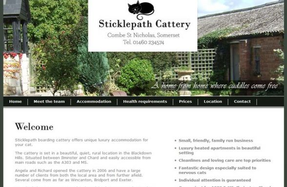 Sticklepath Boarding Cattery