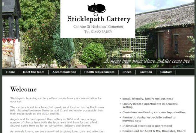 Sticklepath Boarding Cattery