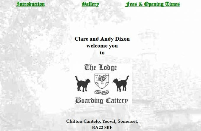 The Lodge Boarding Cattery
