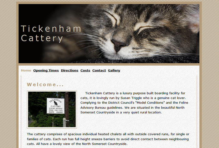 Tickenham Cattery