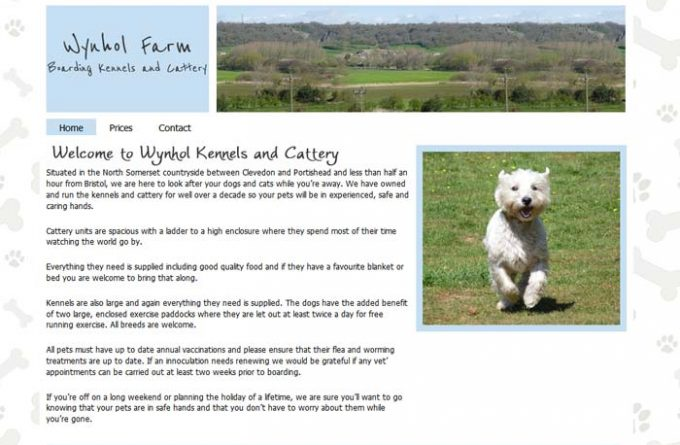 Wynhol Farm Kennels and Cattery