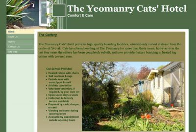 Yeomanry Cats Hotel
