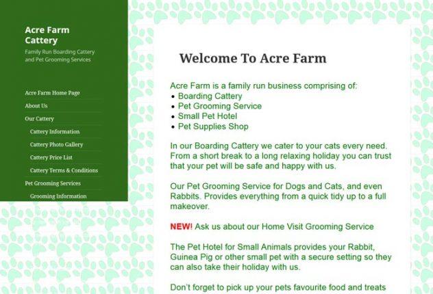 Acre Farm Boarding Cattery