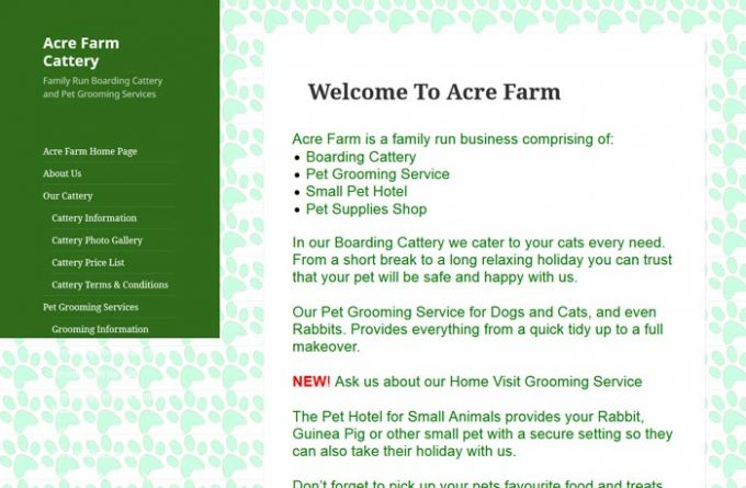 Acre Farm Boarding Cattery