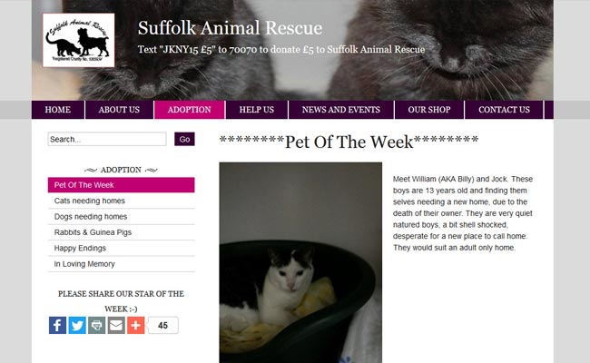 Suffolk Animal Rescue - Stowmarket