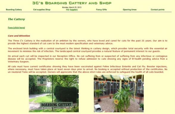 Three C's Cattery