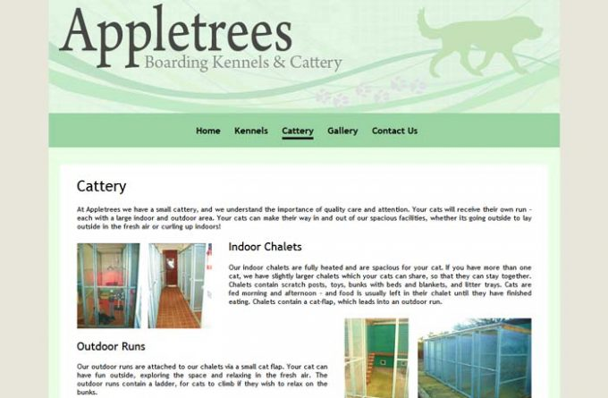 Appletrees Boarding Kennels and Cattery