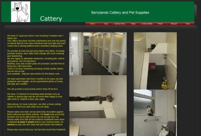 Berrylands Cattery