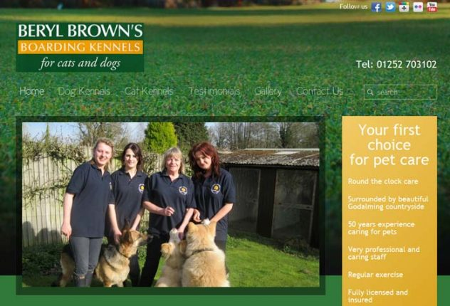 Beryl Brown's Pet Kennels and Cattery
