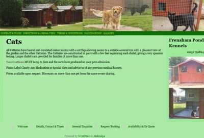 Frensham Pond Kennels & Catteries