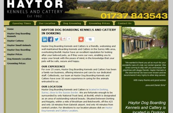 Haytor Kennels and Cattery