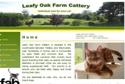 Leafy Oak Farm Cattery