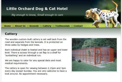 Little Orchard Dog & Cat Hotel