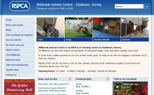 RSPCA Millbrook Animal Centre - Chobham