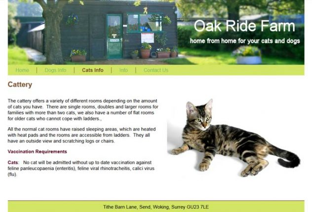 Oak Ride Farm Kennels and Cattery
