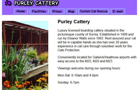 Purley Cattery