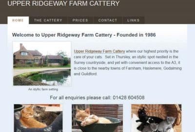 Upper Ridgeway Farm Cattery