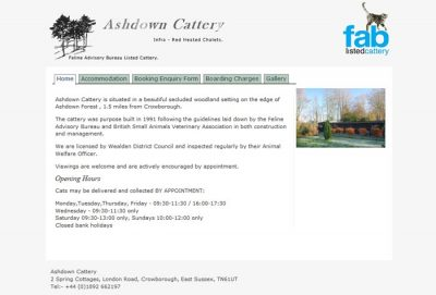Ashdown Cattery