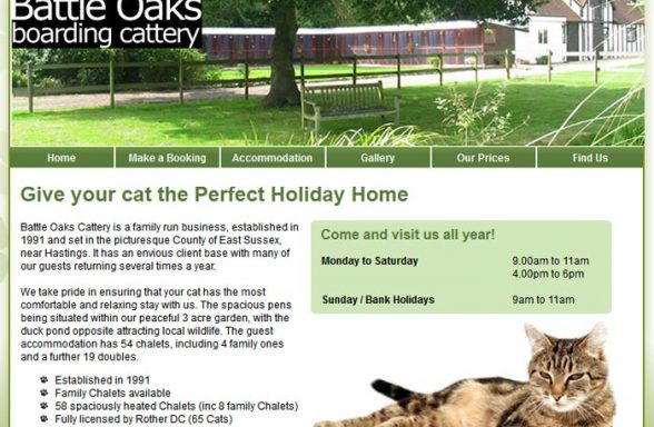 Battle Oaks Boarding Cattery