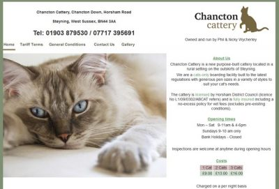 Chancton Cattery