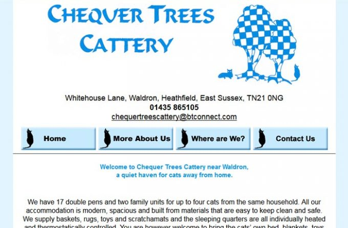 Chequer Trees Cattery