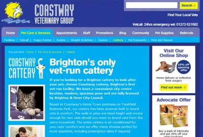 Coastway cattery