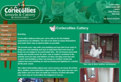 Corie Collies Kennels & Catteries