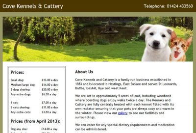 Cove Kennels and Cattery