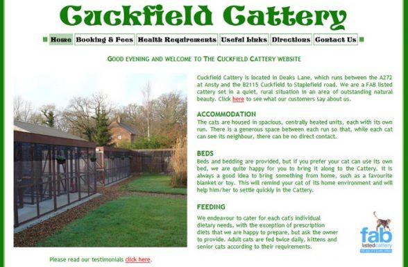Cuckfield Cattery