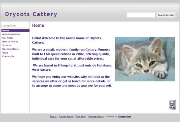 Drycots Cattery