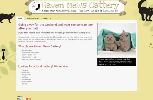 Haven Mews Cattery
