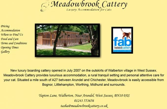 Meadowbrook Cattery