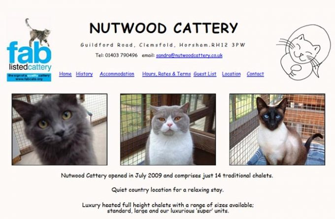 Nutwood Cattery