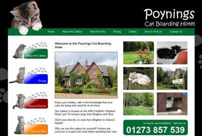 Poynings Boarding Cattery
