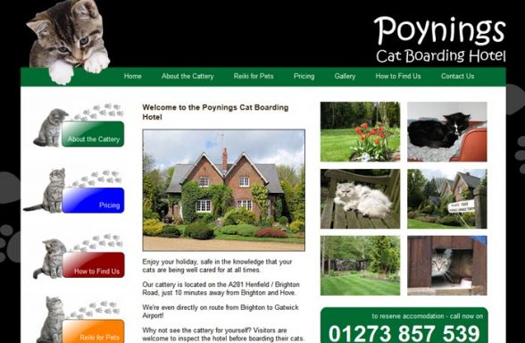 Poynings Boarding Cattery