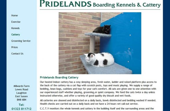 Pridelands Kennels and Cattery