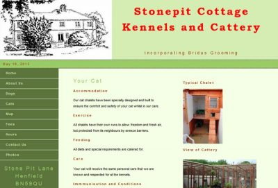 Stone Pit Cottage Kennels & Cattery