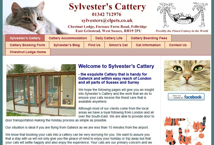 Sylvester's Cattery