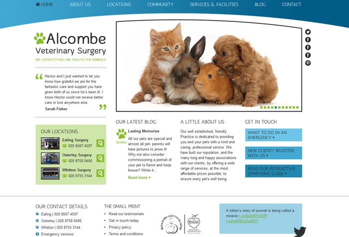 Alcombe Veterinary Clinic